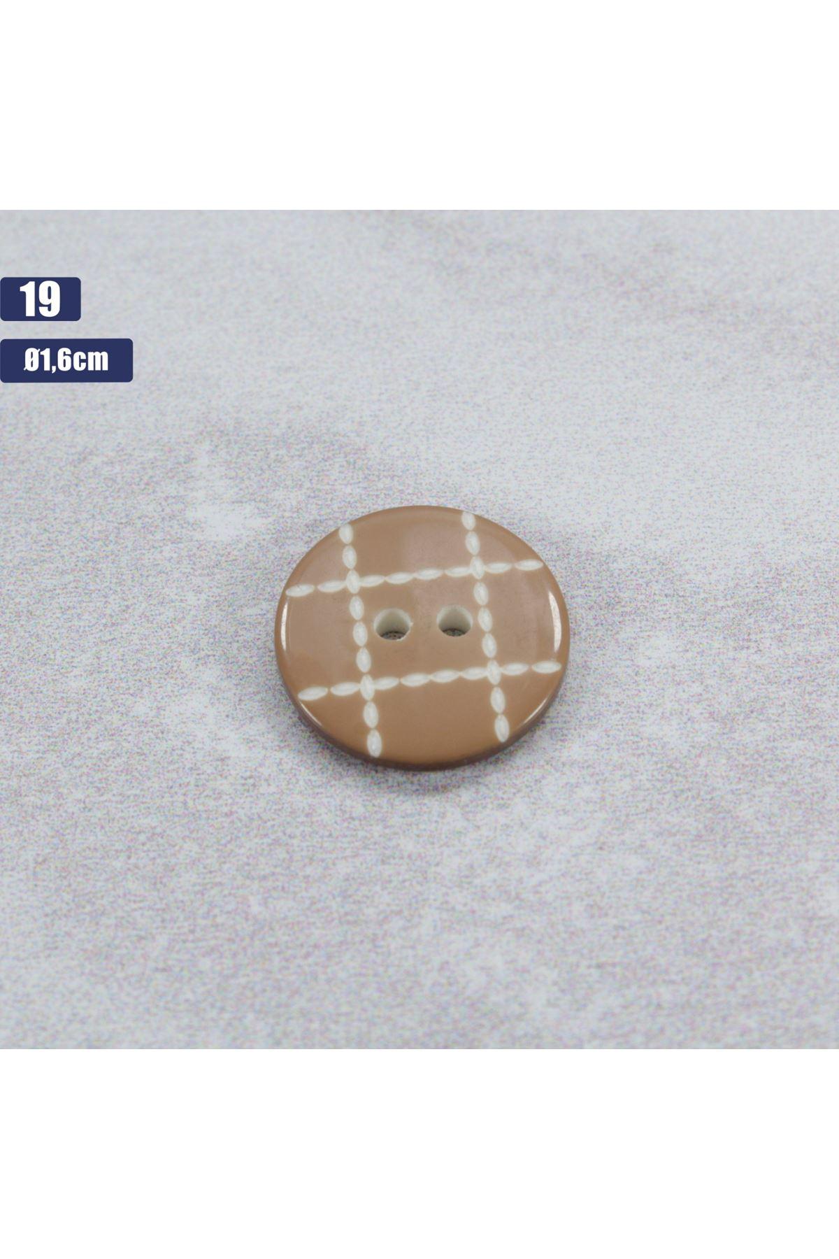 Düğme 1 Adet - 19