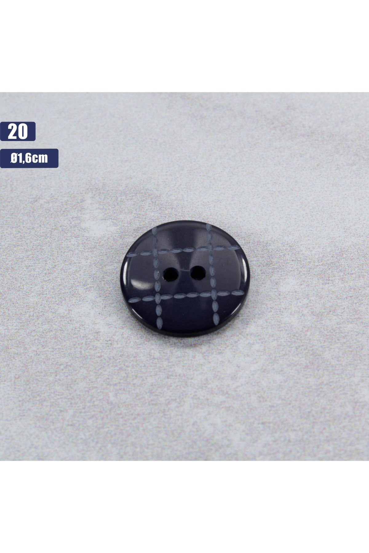 Düğme 1 Adet - 20