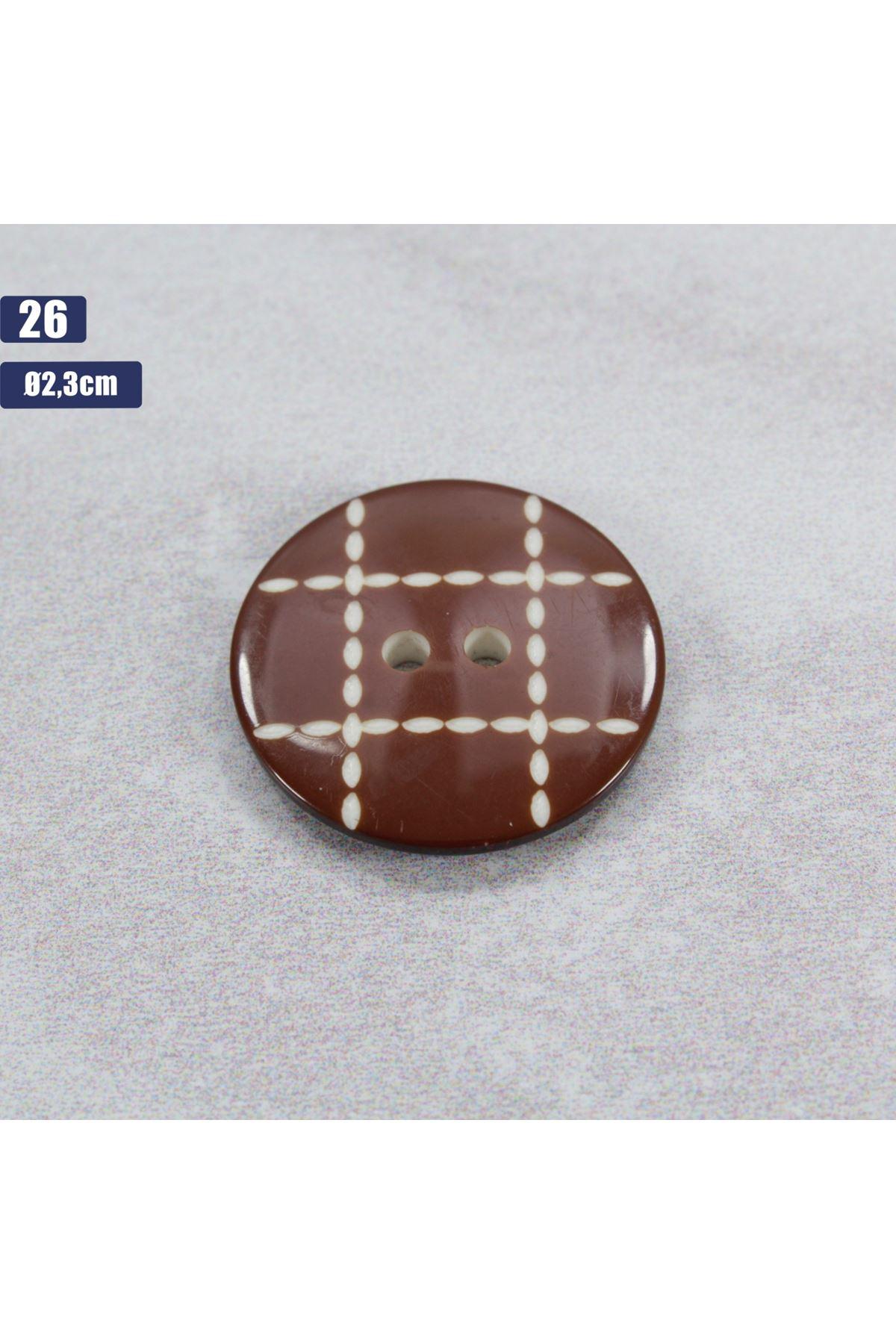 Düğme 1 Adet - 26