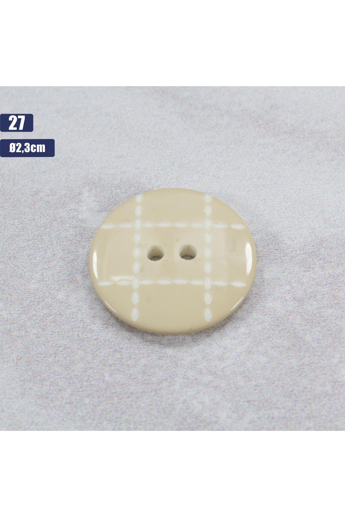 Düğme 1 Adet - 27