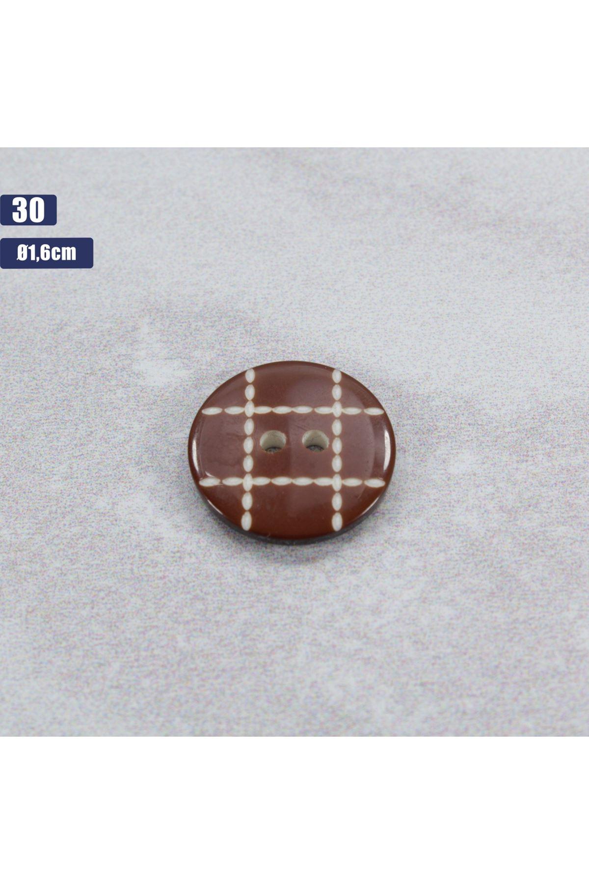 Düğme 1 Adet - 30