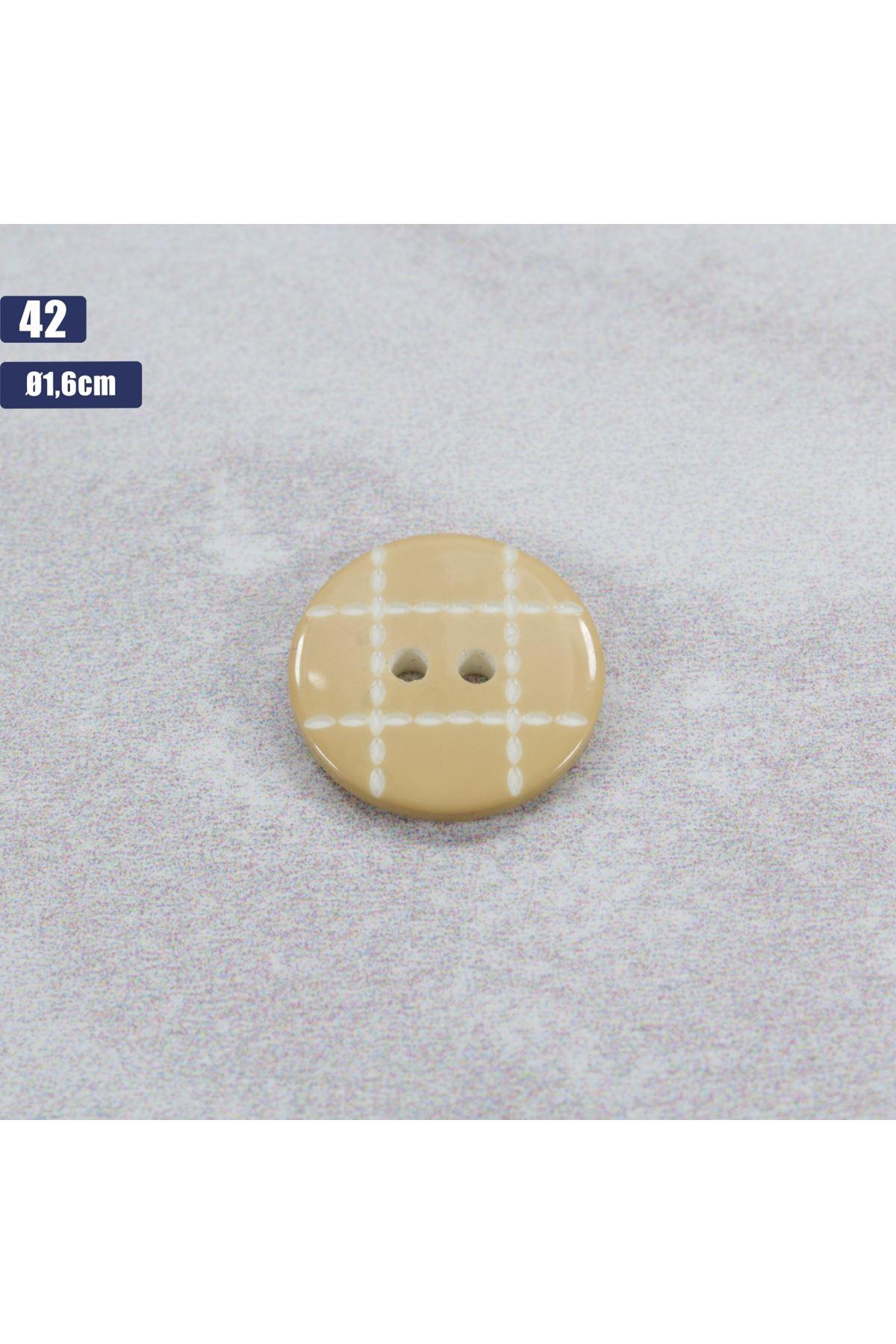 Düğme 1 Adet - 42