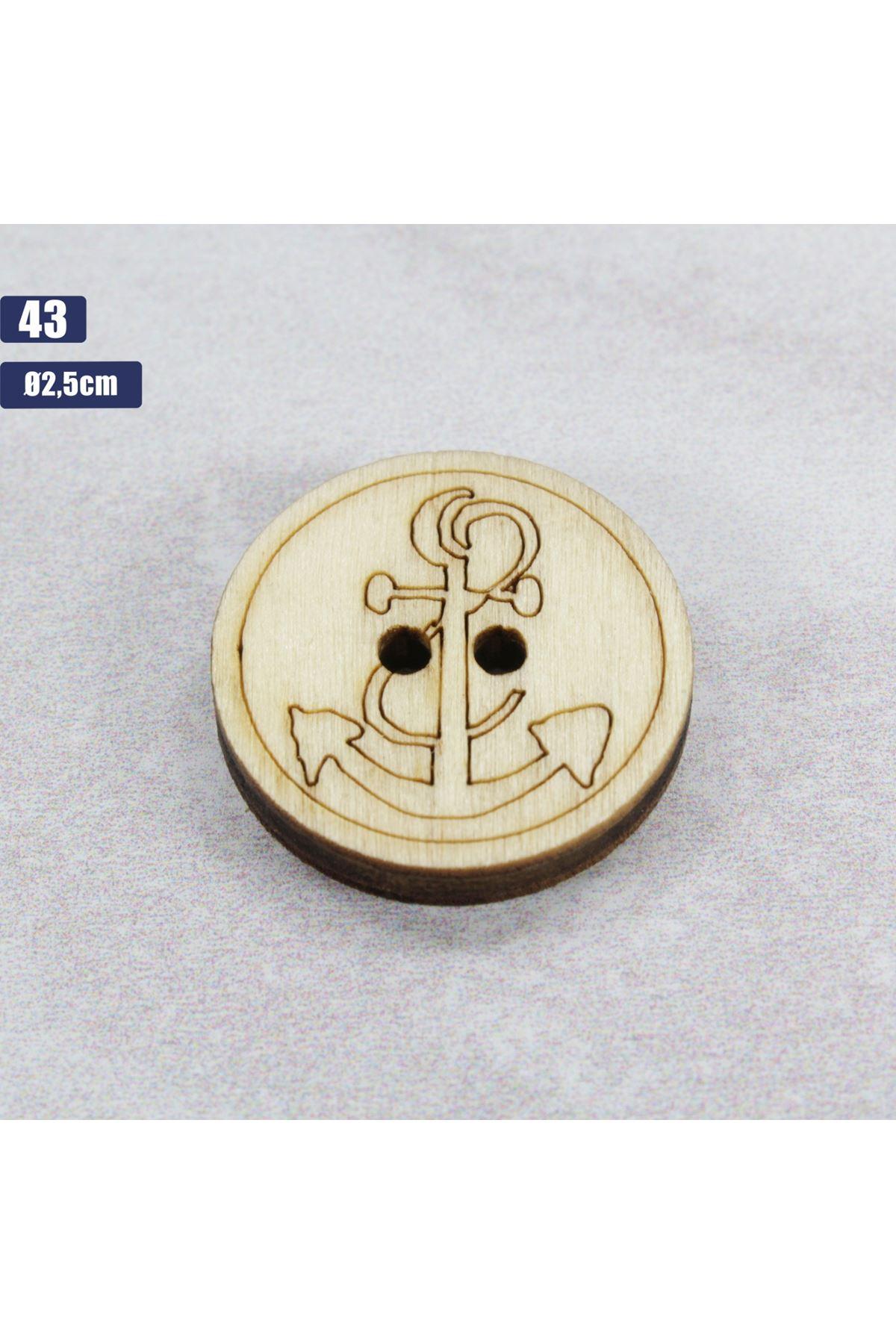 Düğme 1 Adet - 43