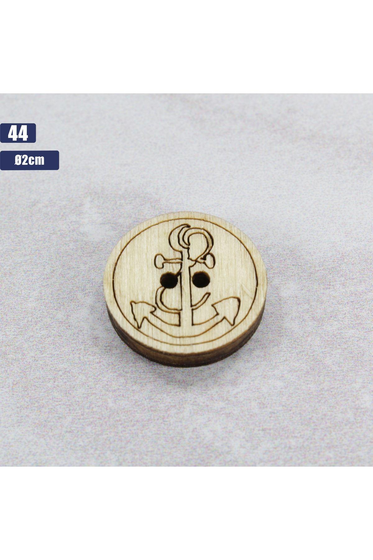 Düğme 1 Adet - 44