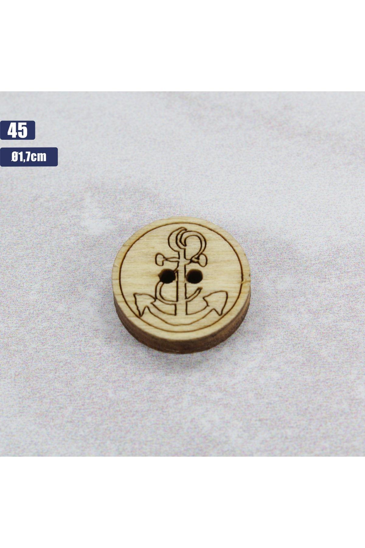 Düğme 1 Adet - 45