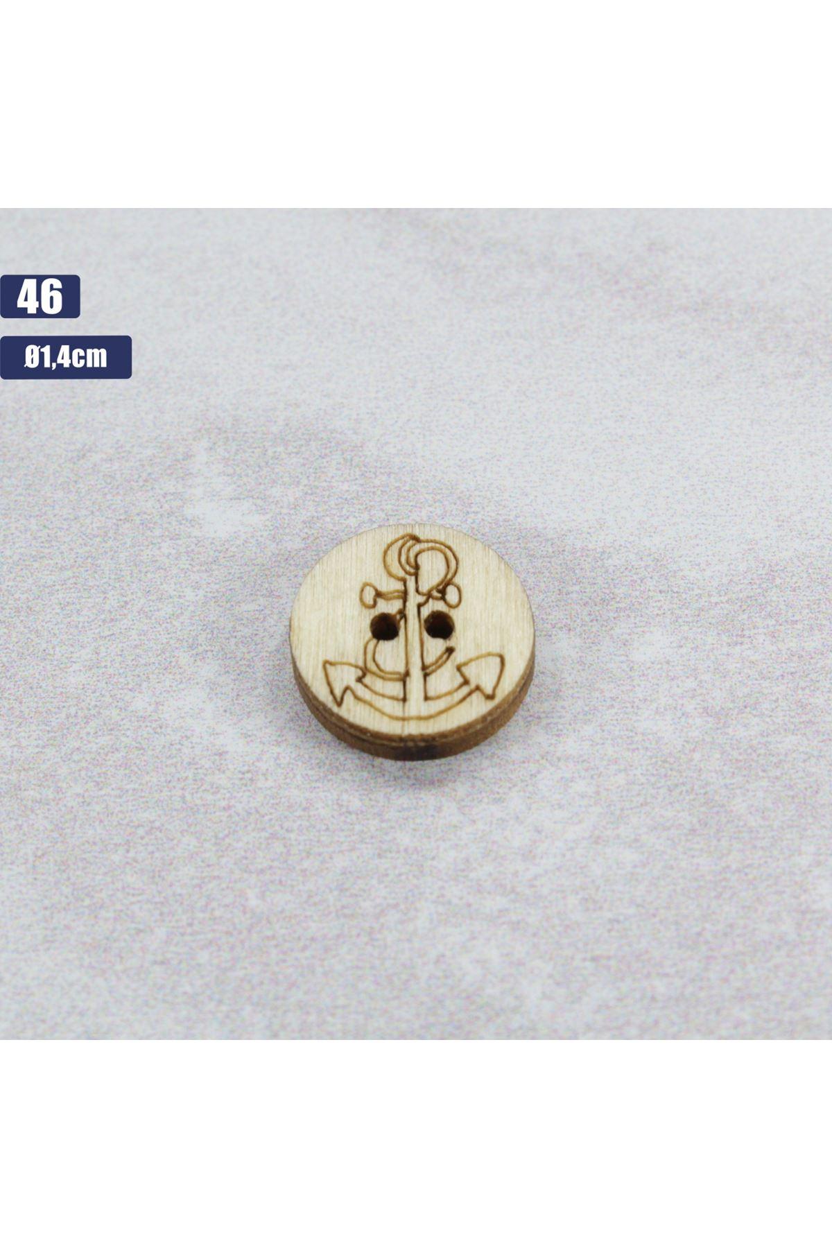 Düğme 1 Adet - 46