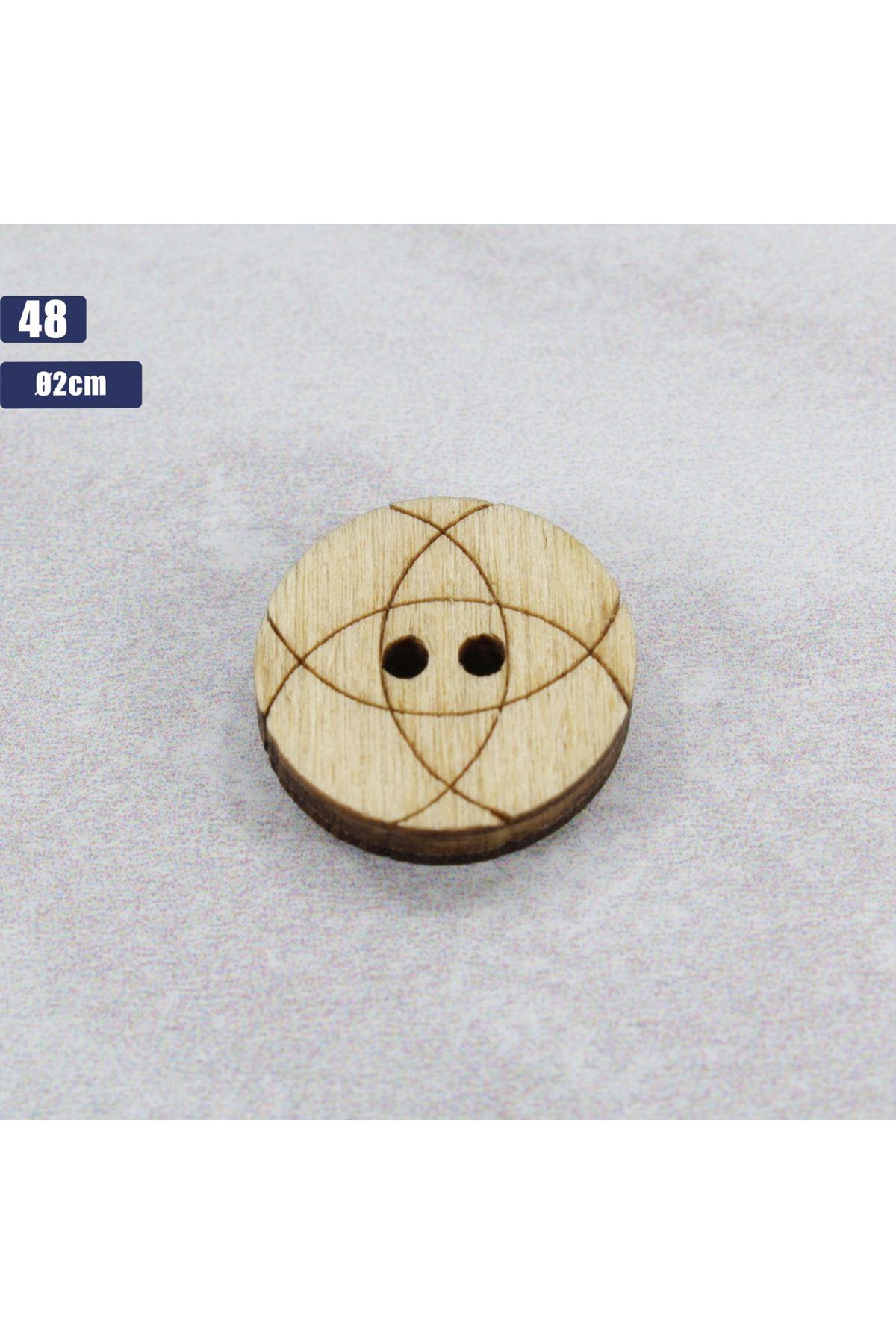 Düğme 1 Adet - 48