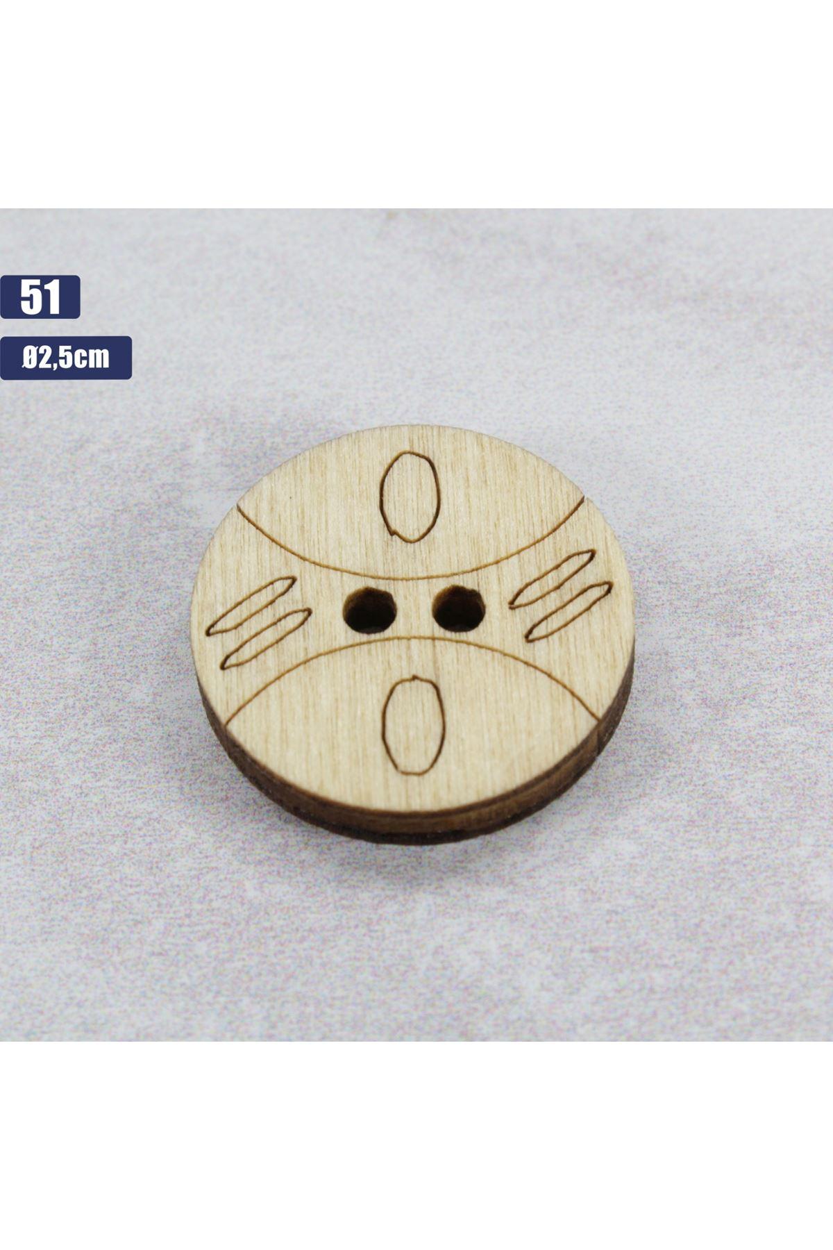 Düğme 1 Adet - 51