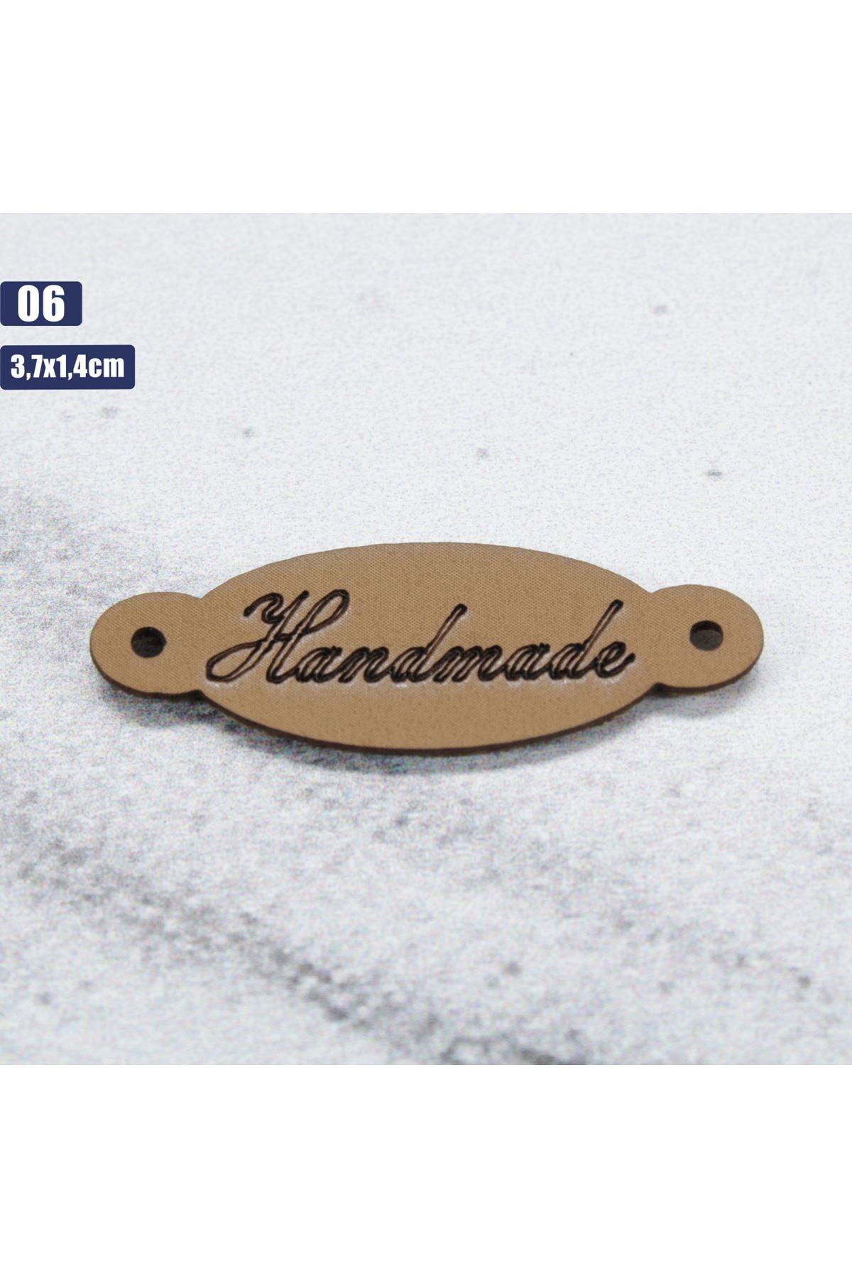 Deri Handmade Etiketi 06